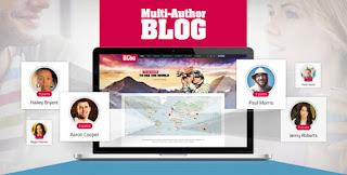Multi-Author Blog v1.4.0 WordPress Theme Free Download - ThemeForest