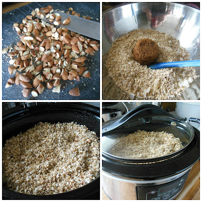 Granola made in your slow cooker, so easy, it is the perfect kitchen hack!
