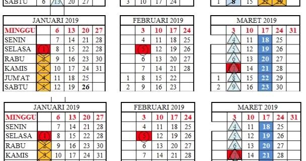 Download Kalender Pendidikan Provinsi Banten 2018 2019