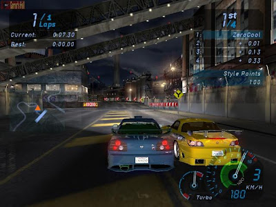 Need For Speed Underground 1 PC