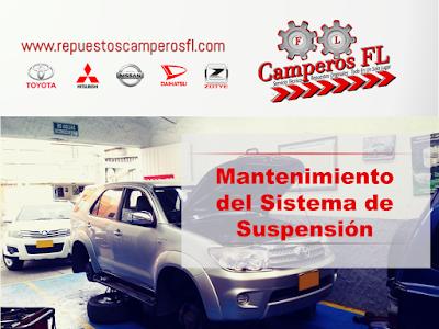 Servicio de Mantenimiento de la Suspension Bogota