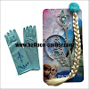4 Pcs Accessories Ulang Tahun Anak Tema Frozen