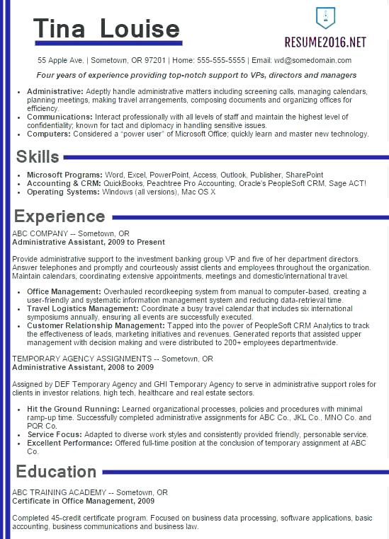 Perfect It Resume How To Write A Proper Unique My Amazing Design