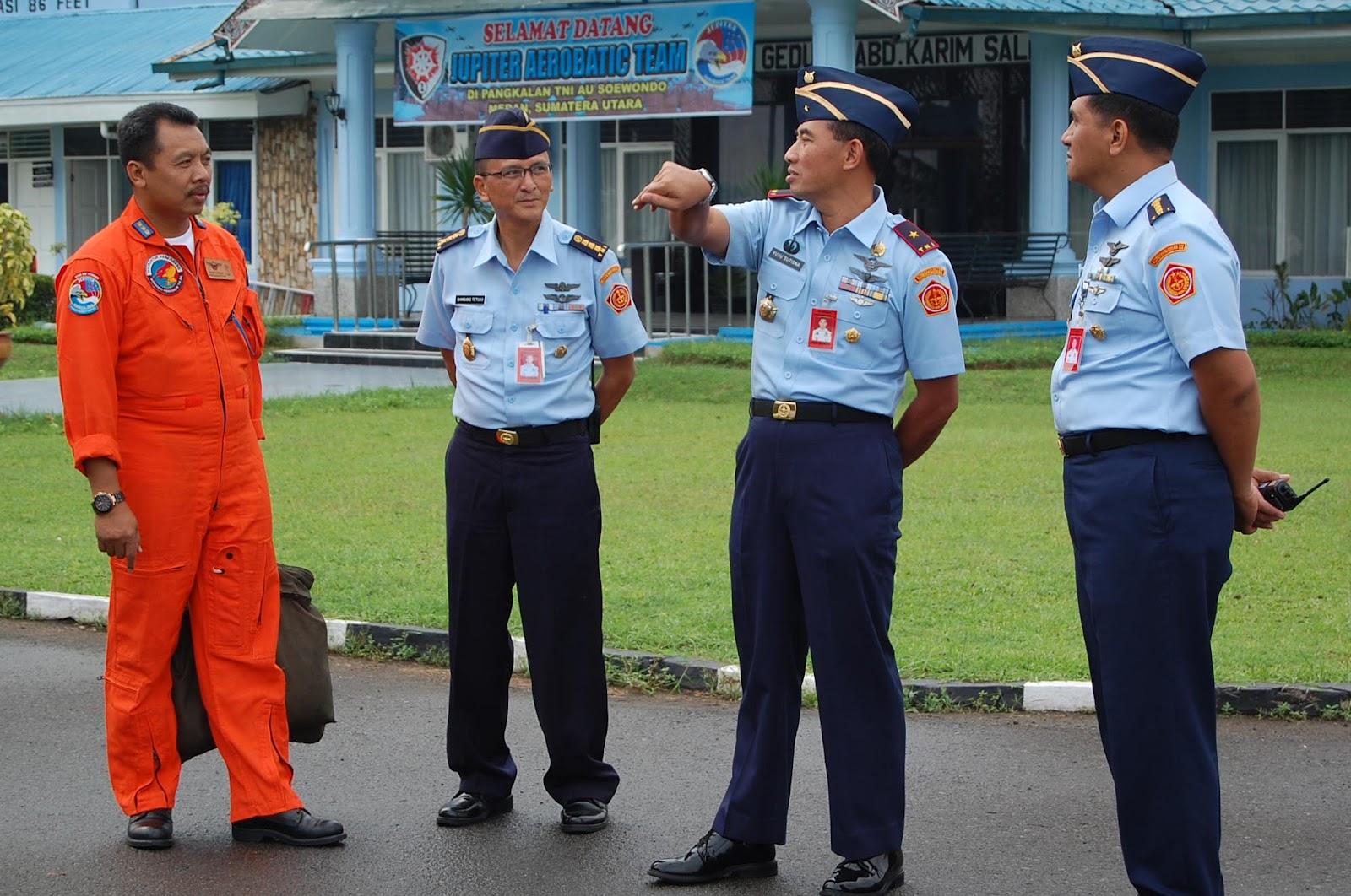 KOSEKHANUDNAS III: Jupiter Aerobatic Team Tinggalkan Medan