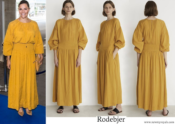 Crown Princess Victoria wore Rodebjer roma dress