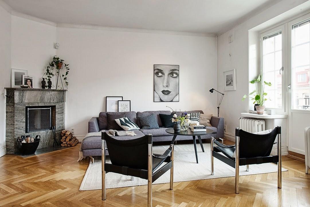 El blog de demarques 10 salones de estilo escandinavo for Salones modernos estilo nordico