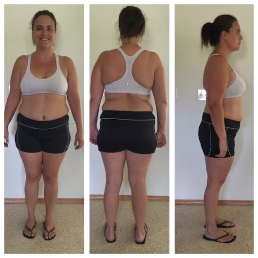 What a Difference a Month Makes - 21 Day Fix and Beachbody
