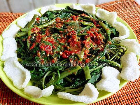 Resep Rujak Kangkung