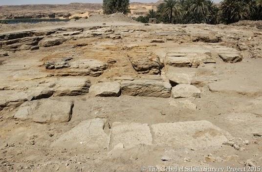 Un immense temple découvert à Gebel Silsileh en Egypte