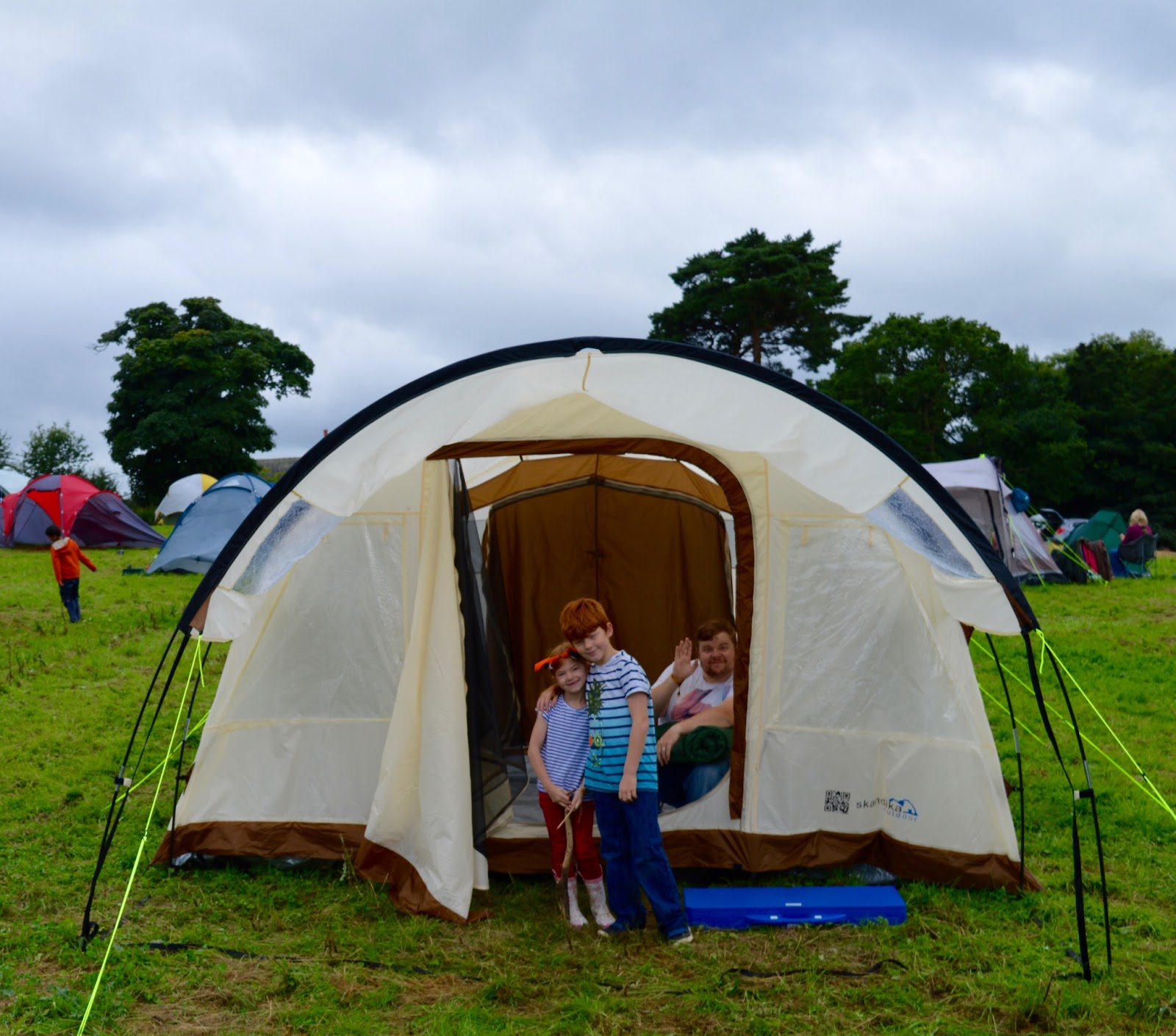33 Reasons we LOVED the Just So Festival 2016 - tent in camping field