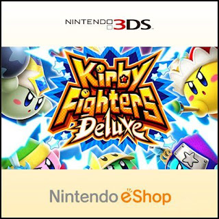 Kirby Fighters Deluxe, 3ds, español