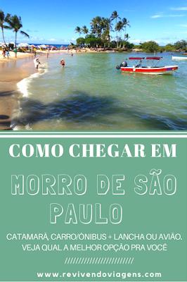 Como chegar em Morro de São Paulo. Bahia