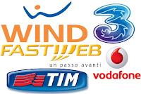 Confronto tariffe telefonia mobile: offerte Vodafone, Fastweb, Wind, Tim e 3 Italia