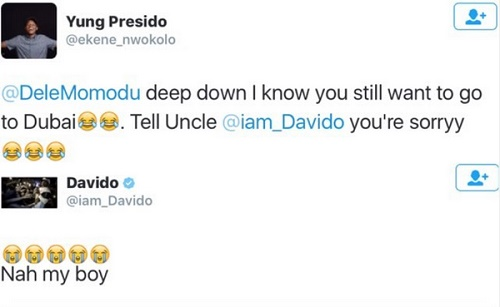 Davido Again Takes A Swipe At Dele Momodu