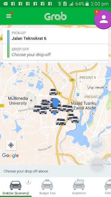 my taxi app malaysia