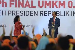 Pajak Final Jadi 0,5 Persen, Presiden Jokowi Berharap UMKM Bisa Tumbuh Melompat