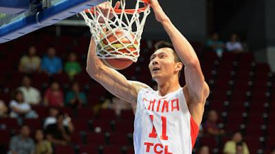 China Men's Basketball PyeongChang Olympics Team Roster 2018