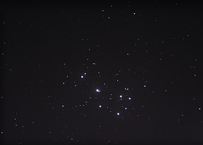 Pleiades with 300mm lens