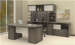 Gray Executive Furniture