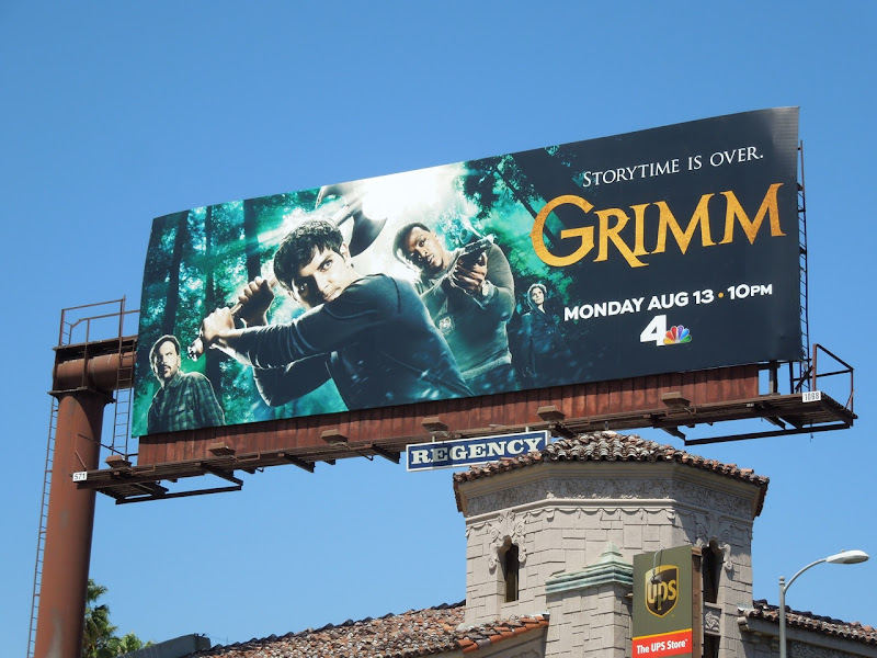 Grimm season 2 TV billboard
