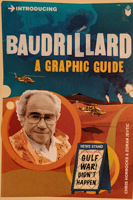 Baudrillard A Graphic Guide Book Cover