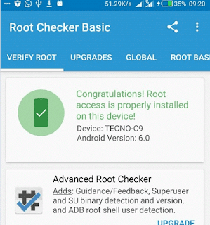 how to root camon c9