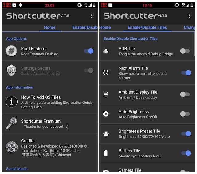 shortcutter quick settings​ apk free download