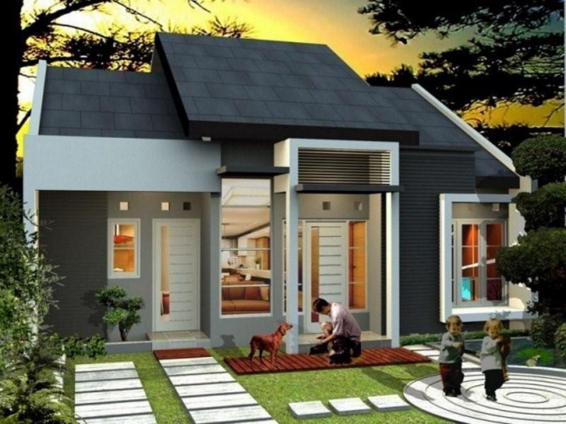 model rumah sederhana tapi kelihatan mewah harga murah
