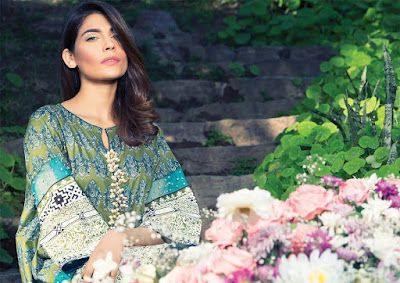 Latest pakistani summer lawn collection 2017 by Alkaram