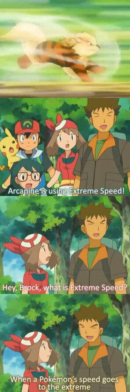 What is extreme speed Pokemon comic