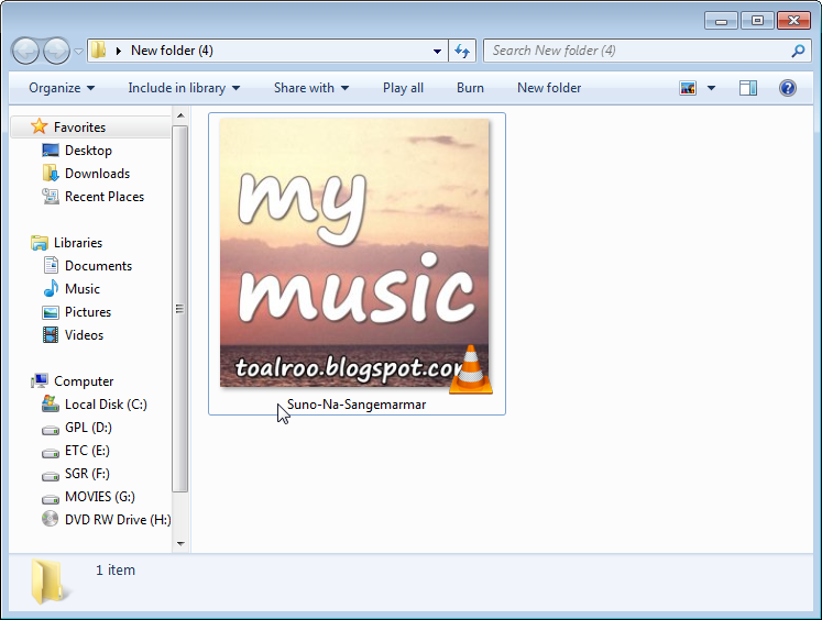 Changing the album art and other tags of an mp3 file 5