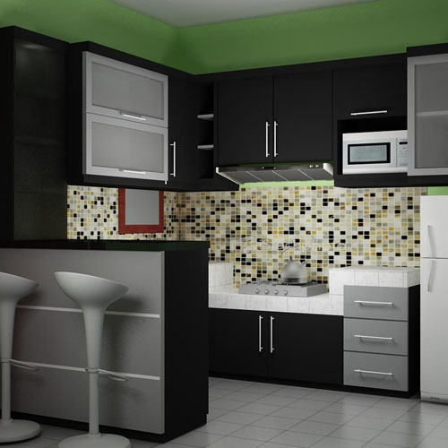 Harga & 70 Model Gambar Kitchen Set Minimalis
