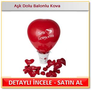 Aşk Dolu Balonlu Kova