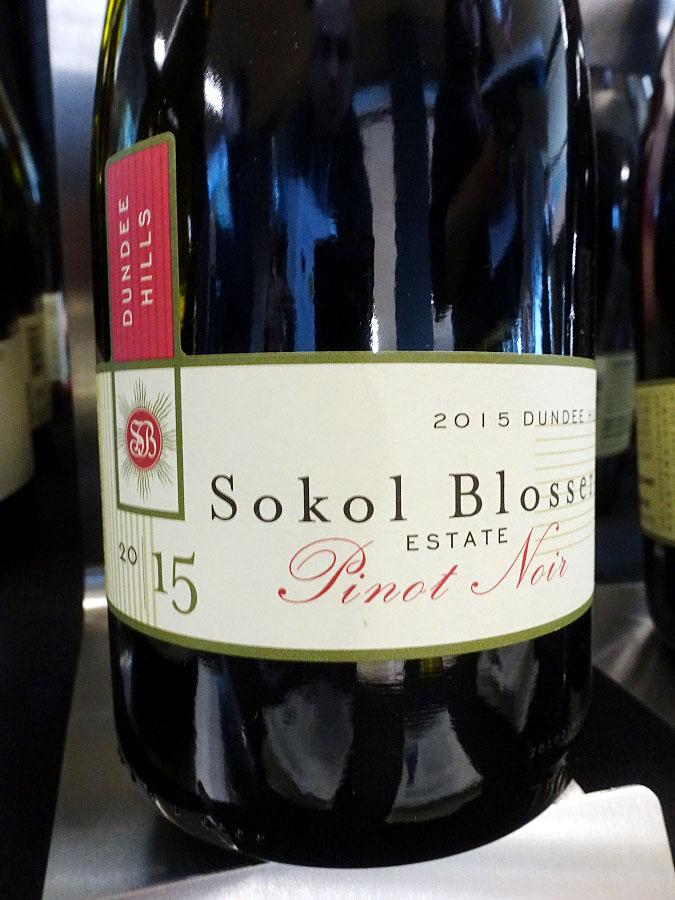 Sokol Blosser Pinot Noir 2015 (91 pts)