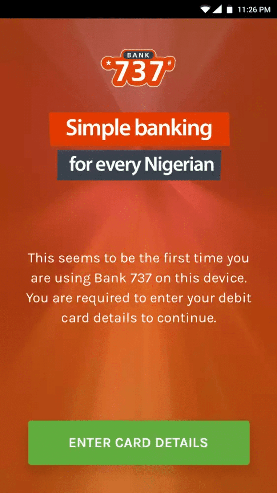 GTBank Introduces Bank 737 Mobile App for Android Users