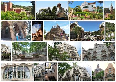 Barcelona; Conhecendo a Europa; sem guia; turismo na espanha; Park Guell; Casa Museu Gaudí; Casa Batló; Casa Amatler, Casa Milá, Casa Lleó Morera