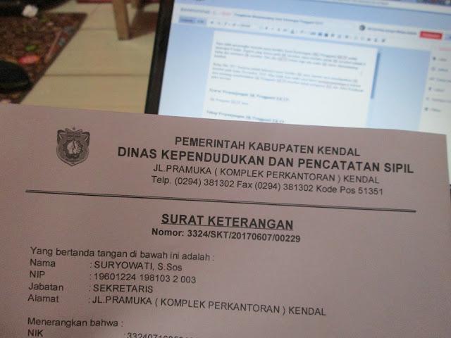 Surat Keterangan Pengganti EKTP
