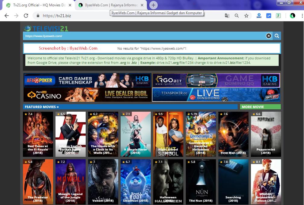 Situs Download Film Terbaru Dan Streaming Film Terbaik Via Google Drive