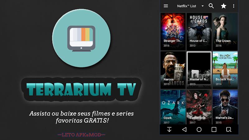 Terrarium TV - Assista ou Baixe seus Filmes e Series Gratis!