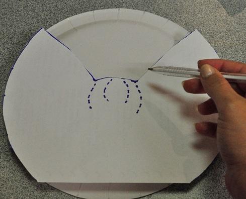 Trabajos manuales para ni os de navidad ngel de papel - Trabajos manuales con telas ...