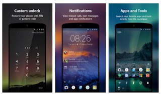 android lock screen customization