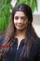 Actress Ritika Singh Stills at Guru Movie Success meet  0068.JPG