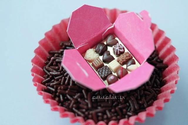 chocolate box miniature model
