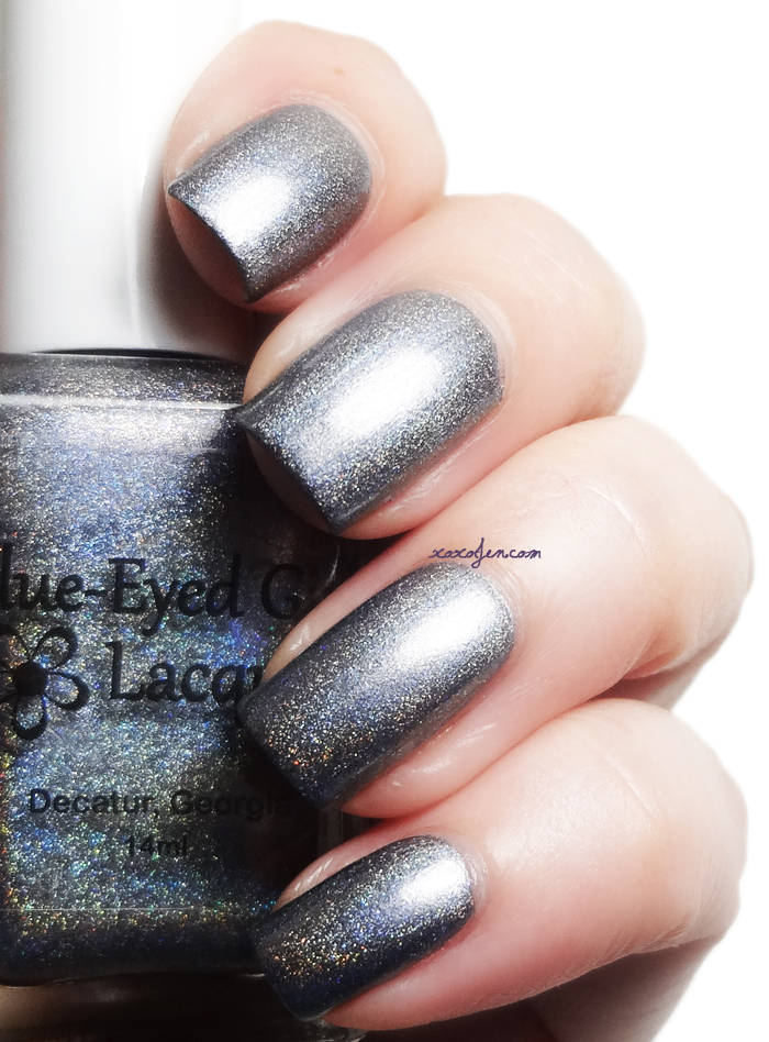 xoxoJen's swatch of Blue-Eyed Girl Lacquer Heat Lightning