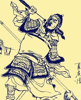 59. เซี่ยโหวตุนกินลูกตา 夏侯惇吃眼睛