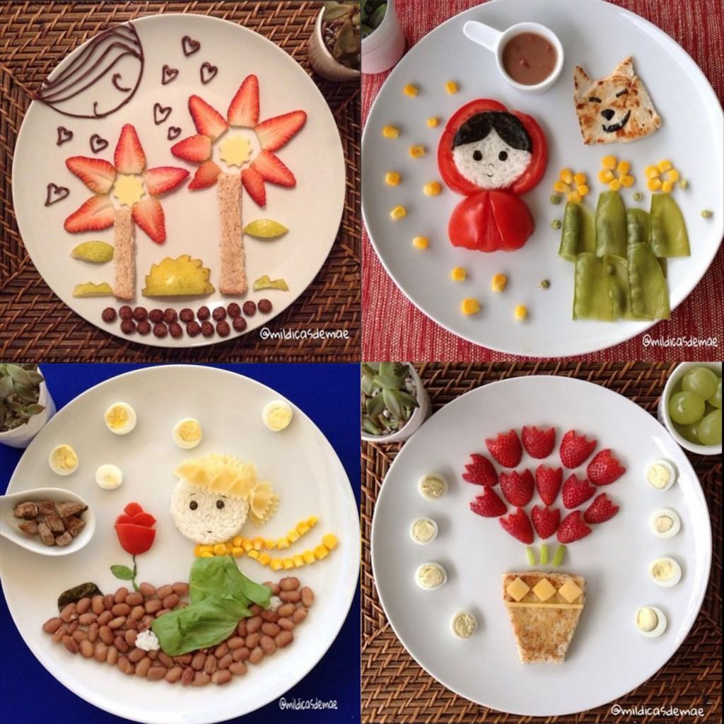 Cocina decorativa creatividad s lo para ni s planeta - Comodas originales ...
