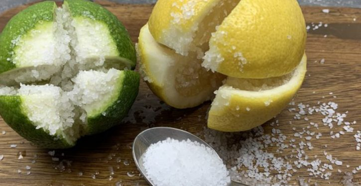 Cut A Lemon Into 4 And Add A Little Salt: A Tip That Will Do You A Lot Of Good