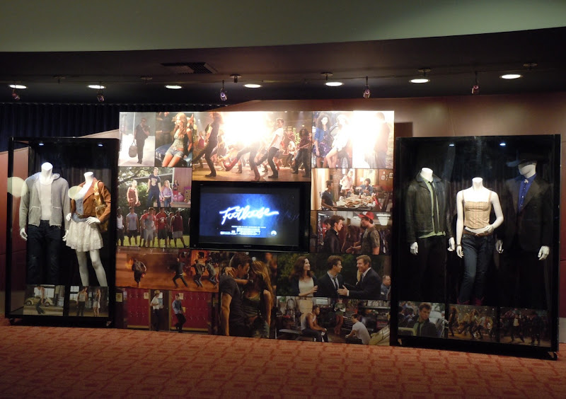 Footloose movie costume display