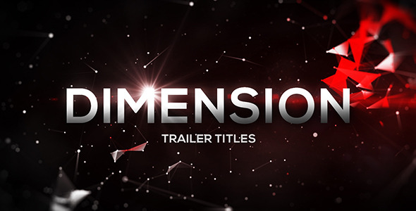 image%2Bpreview VIDEOHIVE DIMENSION TRAILER TITLES After Effects Template download