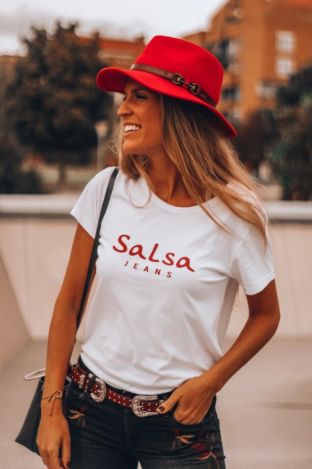 camiseta salsa jeans